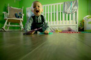 Når baby begynder at tale