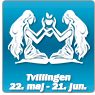 Horoskop for Tvillingen