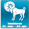 Horoskop for vædderen