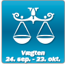Horoskop for Vægten